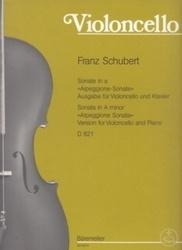 書籍 Violoncello Franz Schubert Barenreiter