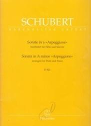 書籍 Schubert Barenreiter Urtext Sonate in a Arpeggione Barenreiter