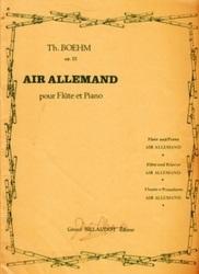 書籍 Air Allemand pour Flute et Piano Th Boehm op 22 Gerard