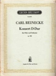 書籍 Carl Reinecke Konzert D-Dur fur Flote und Orchester op 283 Nr 2870 Breitkopf