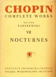 書籍 Chopin Complete Works 7 Nocturnes Paderewski