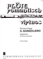 書籍 Flote romantisch virtuos Il Gondoliero Zimmermann