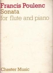 書籍 Francis Poulenc Sonata for flute and piano Chester Music
