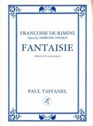 書籍 Fantaisie for flute and piano Francoise de rimini Paul Taffanel