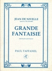書籍 Jean de nivelle Grande Fantaisie for flute and piano Paul taffanel