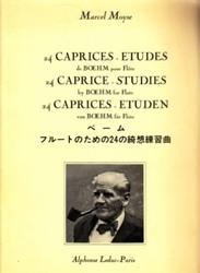 書籍 ベーム フルートのための24の綺想練習曲 Marcel Moyse Alphonse Leduc