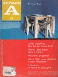書籍 ABITARE 420 Daniel Libeskind