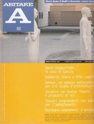 書籍 ABITARE 425 David Chipperfield