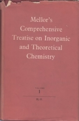 洋雑誌 Mellor s Comprehensive Treatise on Inorganic and Theoretical Chemistry Vol 1