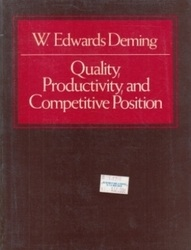書籍 Quality Productivity and Competitive Position W・Edwards Deming MIT CAES