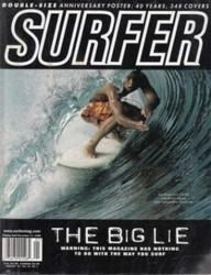 書籍 Surfer magazine vol 40 no 1 Jan 1999 Petersen
