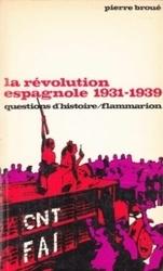 書籍 la revolution espagnole 1931-1939 pierre broue