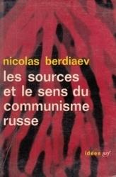 書籍 les sources et le sens du communisme russe nicolas berdiaev