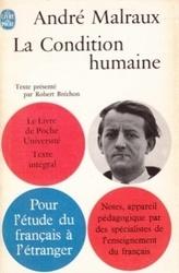 書籍 La Condition humaine Andre Malraux