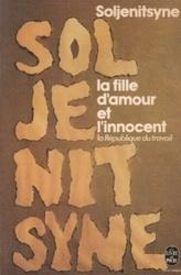 書籍 Soljenitsyne la fille d amour et l innocent