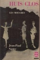 書籍 Huis Clos Les mouches Jean-Paul Sartre