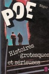 書籍 Histoires grotesques et serieuses Edgar POE