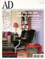 洋雑誌 AD 2003年10月号 No 36 Les publications conde nast SA
