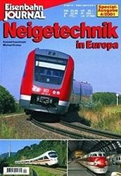 書籍 Eisenbahn Journal Neigetechnik in Europa Special Ausgabe 4 2001