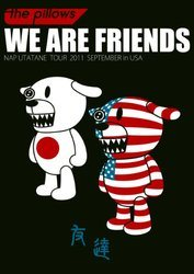 WE ARE FRIENDS ~NAP UTATANE TOUR 2011 SEPTEMBER in USA~/pillows[新品]