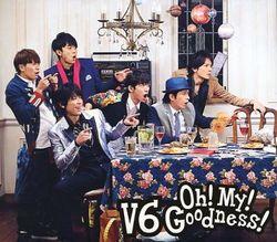 Oh! My! Goodness! 初回生産限定A (CD+DVD)/V6【中古】[☆3]