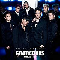 BIG CITY RODEO(CD+DVD)/GENERATIONS from EXILE TRIBE【中古】[☆3]