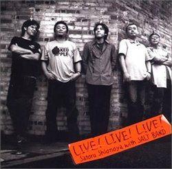 LIVE!LIVE!LIVE!/塩谷哲 with SALT BAND【中古】[☆3]