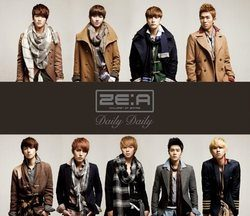 Daily Daily [Type-B] (DVD付)/ZE:A【中古】[☆3]
