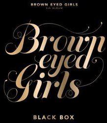 Brown Eyed Girls 5集 - Black Box (通常版) (韓国盤)/ブラウン・アイド・ガールズ【中古】[☆4]