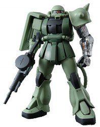 MG 1/100 MS-06J ザクII Ver.2.0 (限定クリアパーツ付き) (機動戦士ガンダム)【中古】[☆3]