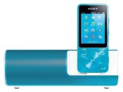 【未使用】ソニー SONY ウォークマン Sシリーズ NW-S13K : 4GB Bluetooth対応 イヤホン/スピーカー付属 2014年モデル ブルー NW-S13K L【中古】[☆3]