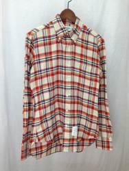 TOM BROWNE トムブラウン チェックシャツ コットン マルチカラー 1 01103A4013/シャツ【中古】[☆3]