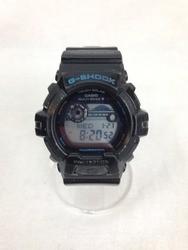 G-SHOCK ジーショック GWX-8900-1JF タフソーラー 黒 青/時計【中古】[☆3]