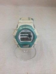 G-SHOCK ジーショック DW-004 クォーツ ホワイト グリーン 腕時計/時計【中古】[☆2]
