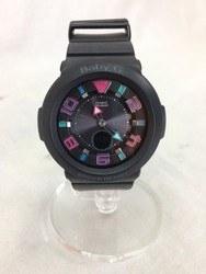 Baby-G ベイビージー BGA-1601 BLACK/時計【中古】[☆3]