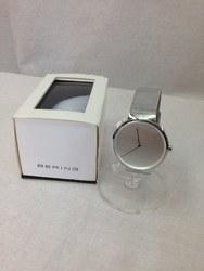 BERING ベーリング CURVING MESH 14539-000 腕時計 アナログ メッシュベルト 箱あり シルバー/時計【中古】[☆3]