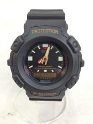 G-SHOCK ジーショック AW-560-1B2 アナログ デジタル 樹脂バンド ブラック 腕時計/時計【中古】[☆3]