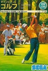 【ジャンク品返品不可】【SG-1000・SC-3000専用ソフト】【ソフトのみ】チャンピオンゴルフ【中古】[☆1]