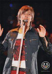 【NEWS生写真】山下智久 NEWS CONCERT TOUR pacific 2007-2008 公式生写真/山下智久【中古】[☆3]
