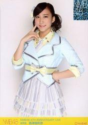 【NMB48生写真】西澤瑠莉奈 NMB48 4TH ANNIVERSARY LIVE 会場限定生写真/西澤瑠莉奈【中古】[☆3]
