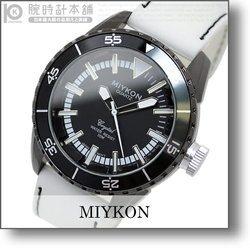 ミーコン MIYKON SportySilicon ブラック×ホワイト B3400-5085 メンズ