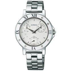 セイコー ワイアードエフ WIREDf トーキョーガールミックス クロノグラフ AGET403 [正規品] レディース 腕時計 時計