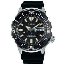 セイコー プロスペックス ダイバーズウォッチ メカニカル 自動巻き 腕時計 メンズ モンスター MONSTER SEIKO PROSPEX SBDY035 ブラック 時計