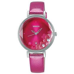 セイコー ワイアード エフ 腕時計 レディース シャイニーフラワー AGEK447 SEIKO WIRED トーキョーガールミックス TOKYO GIRL MIX 時計