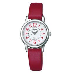 セイコー アルバ アンジェーヌ ソーラー レディース 腕時計 AHJD404 SEIKO ALBA ingenu 革ベルト 時計