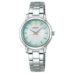 セイコー レディース 腕時計 クオーツウオッチ50周年記念 限定モデル ソーラー STPX067 セイコーセレクション SEIKOSELECTION グリーングラデーション 時計
