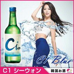 C1 シーウォンBlue焼酎 360ml x 1本  韓国お酒 アルコール 17.5度 ショウチュウ