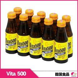 韓国ビタミンドリンク ★ビタ500(vita500)10本セット ★ vitamineC / vitamineB2 / drink ビタミンドリンク 韓国食材 韓国飲料 韓国飲み物