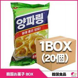 農心 ヤンパリン(オニオンリング)1BOX(20個入り)ボックス