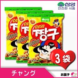 韓国お菓子】 チャング x 3袋  ◆ 1個あたり 90g